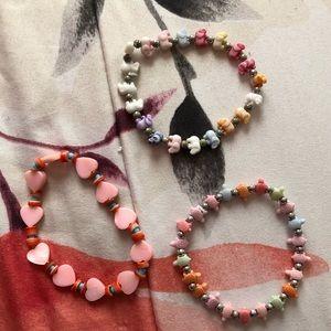 Set of 3 Girls' Bracelets